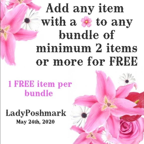 🌸🆓 with BUNDLE of 2 items or more 🌸